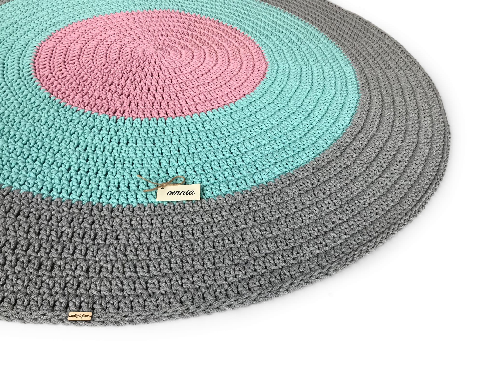 OMNIA Dywan okrągły średnica 180 cm 3 kolory