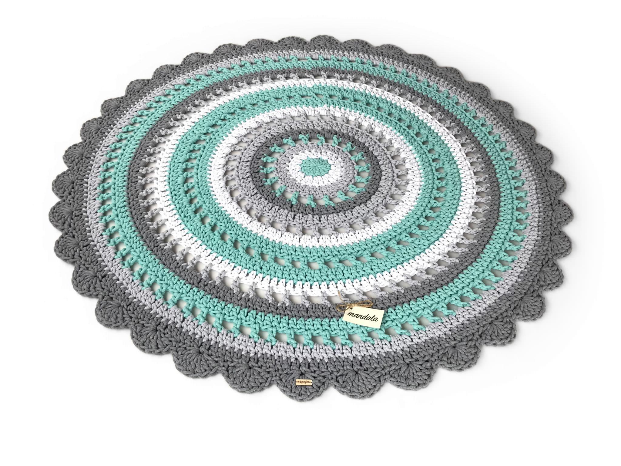 MANDALA Dywan okrągły średnica 150 cm 4 kolory