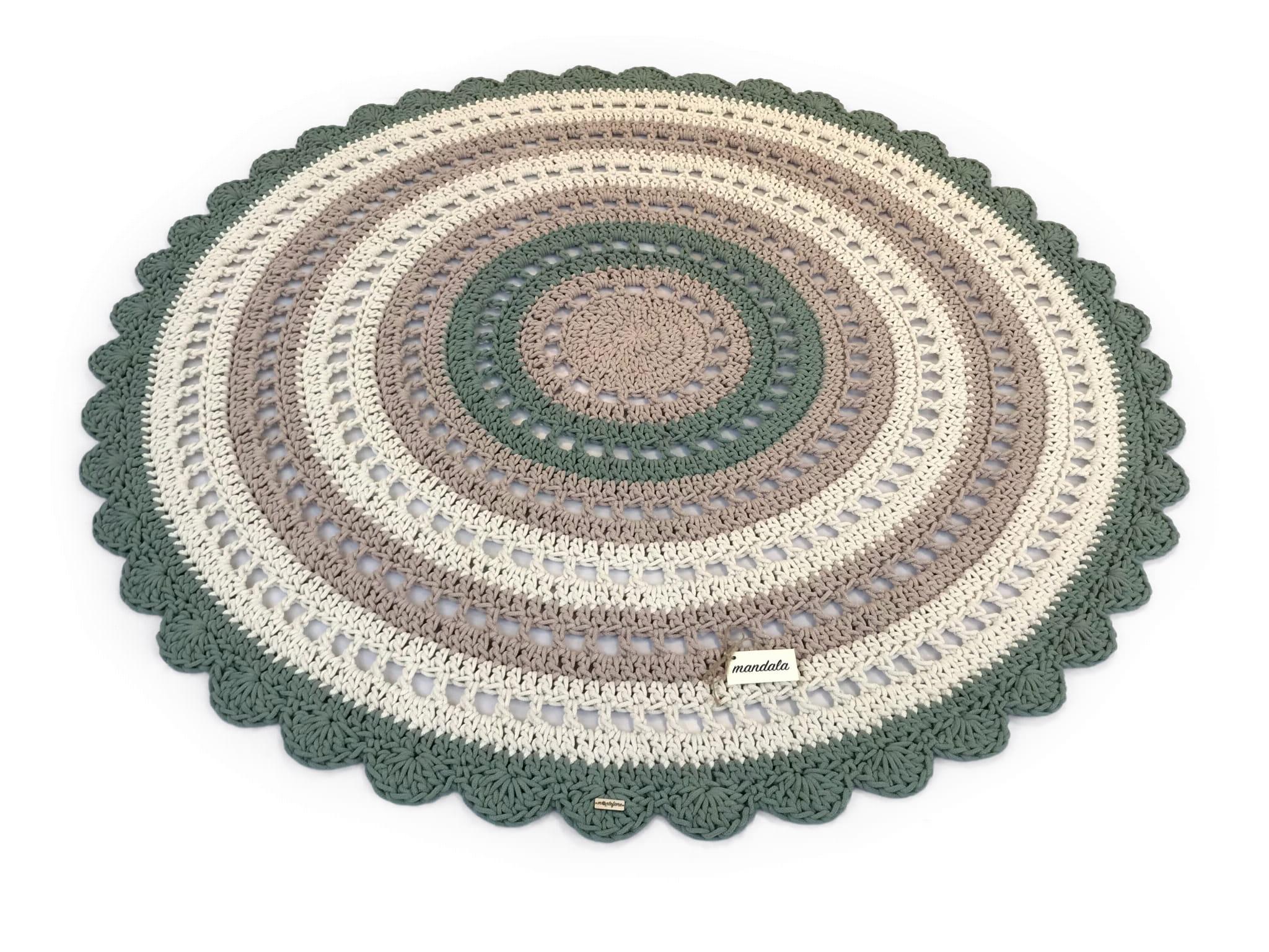 MANDALA Dywan okrągły średnica 180 cm 3 kolory