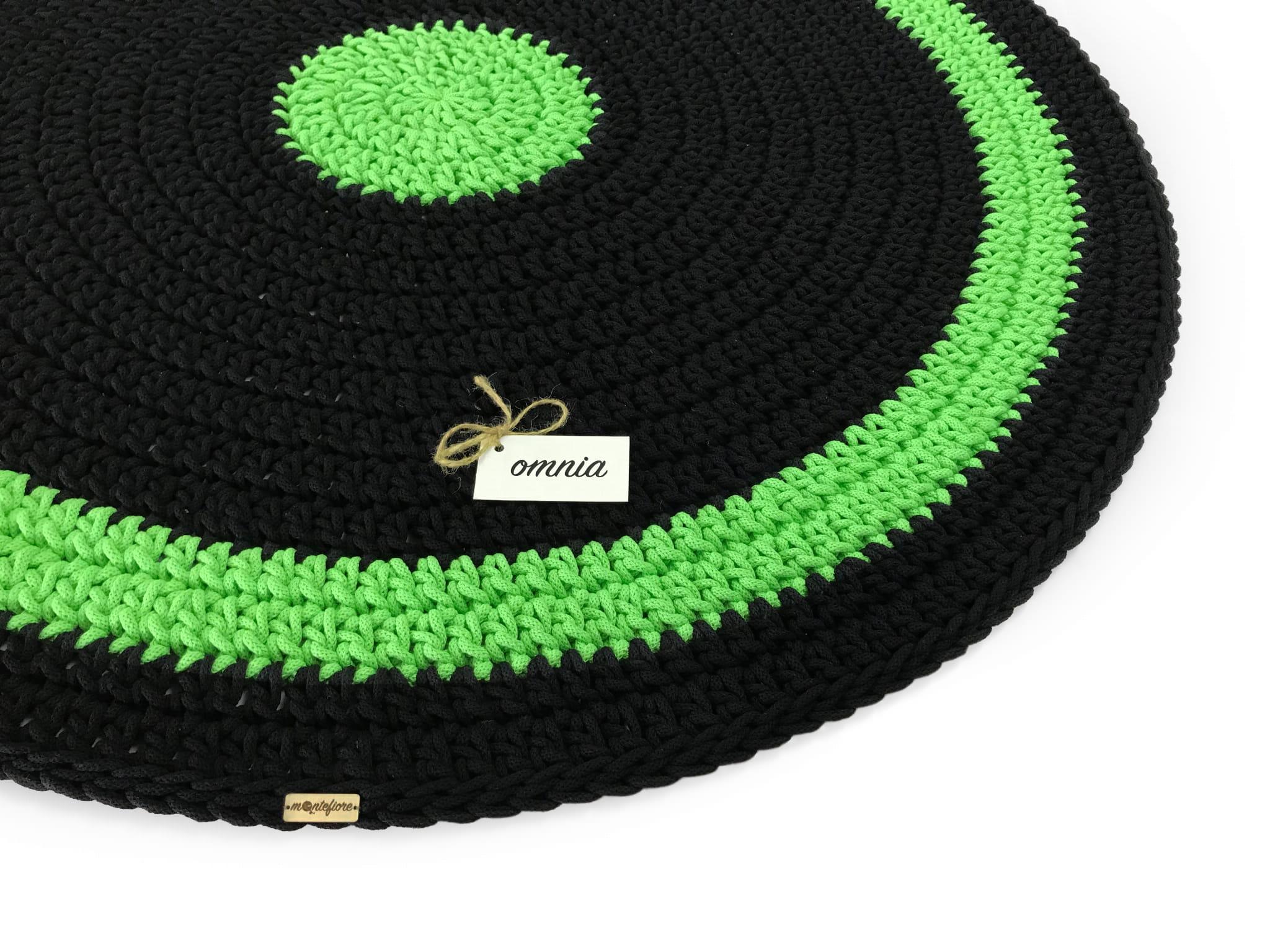 OMNIA Dywan okrągły średnica 120 cm 2 kolory